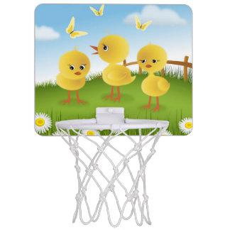 Baby Chickens Mini Basketball Hoop
