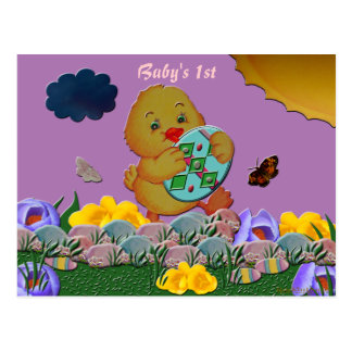 Baby Chic's First Postcard