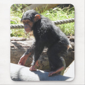 Baby Chimp Mouse Pad