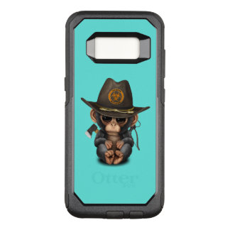 Baby Chimp Zombie Hunter OtterBox Commuter Samsung Galaxy S8 Case