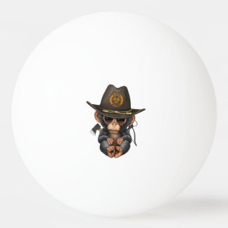 Baby Chimp Zombie Hunter Ping Pong Ball