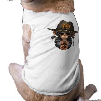 Baby Chimp Zombie Hunter Shirt