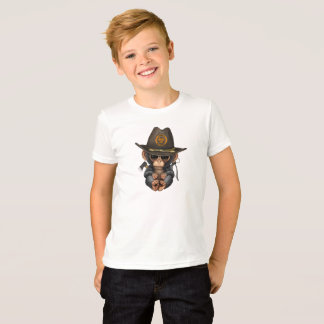 Baby Chimp Zombie Hunter T-Shirt