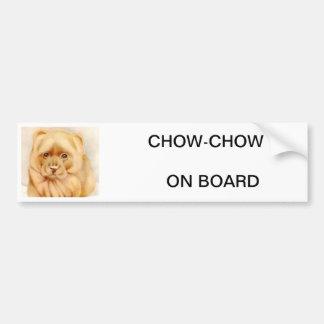 Baby Chow-Chow - SUPER CUTE ! Bumper Sticker