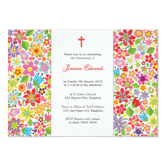 Baby Christening Baptism Personalized Announcement