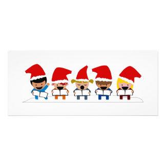 Baby Christmas Carolers Custom Invites