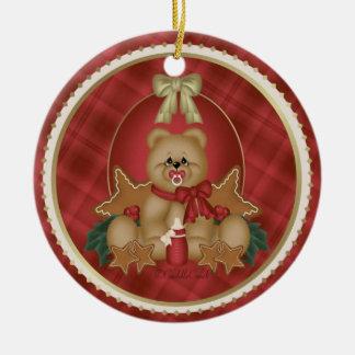 Baby Christmas Ornament Gift Tag