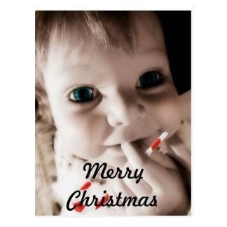 BABY CHRISTMAS POSTCARD