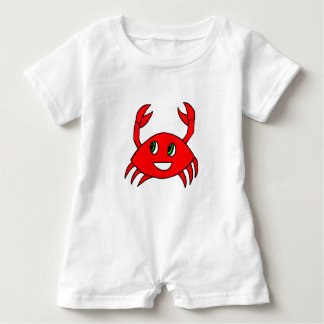 Baby Clothes - Baby Rompers - Happy Crab Baby Bodysuit