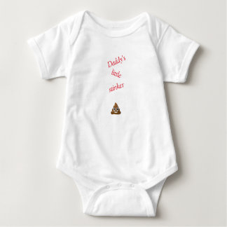 Baby clothes, Daddy's little stinker. Baby Bodysuit