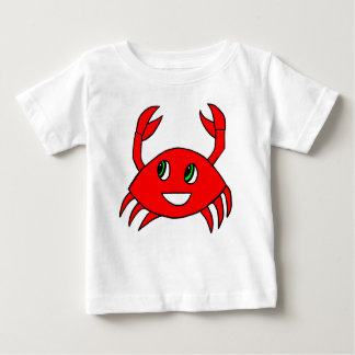 Baby Clothes -Happy Crab Shirt