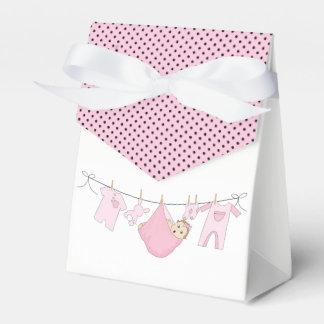Baby Clothes Line Favour Box