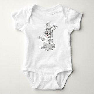 Baby clothes. rabbit. baby bodysuit