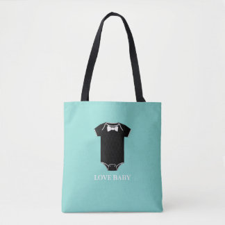 BABY & CO. Blue Tiffany Boy Baby Tote Bag