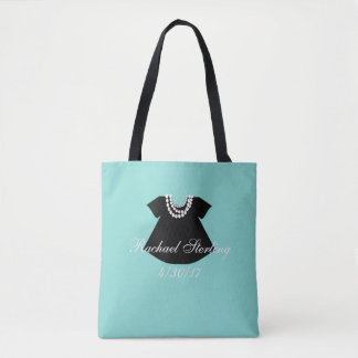 BABY & CO Girl Little Black Dress Party Tote Bag