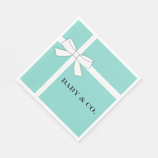 BABY & CO Personalize Baby Party Napkins Paper Napkin