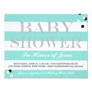 BABY & CO. Tiffany Party Baby Shower Invitation