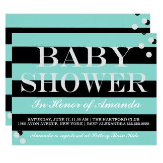 BABY & CO. Tiffany Theme Baby Shower Invitation