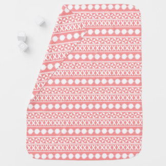 Baby Coral Stripes Blanket