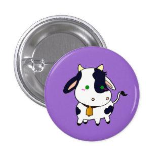 Baby Cow 3 Cm Round Badge