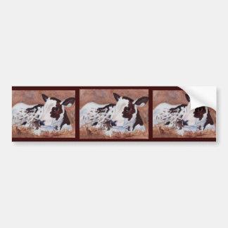 Baby Cow Bumper Sticker