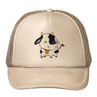 Baby cow hat