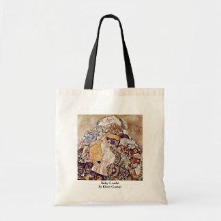 Baby Cradle By Klimt Gustav Bag