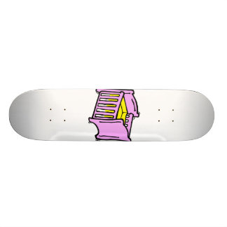 baby crib pink themed graphic yellow mattress skate board decks
