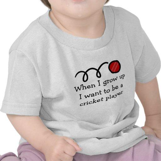Baby cricket player | Cute newborn gift Shirt