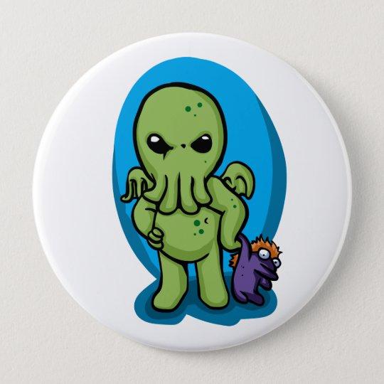 Baby cthulhu - cute cthulhu - cthulhu halloween 10 cm round badge