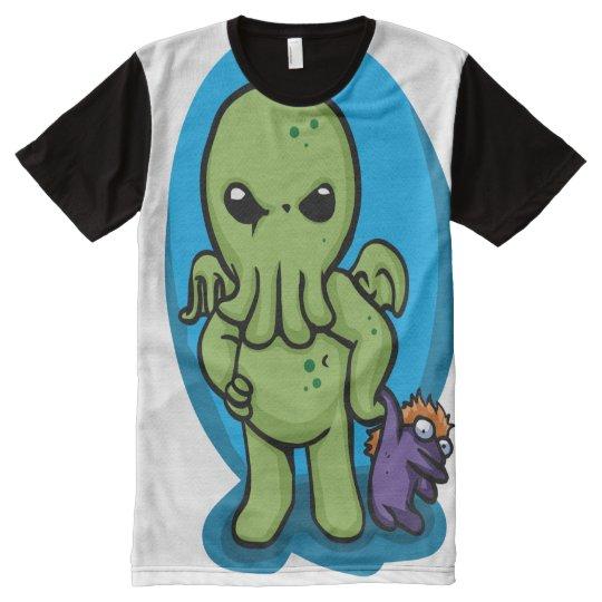 Baby cthulhu - cute cthulhu - cthulhu halloween All-Over print T-Shirt