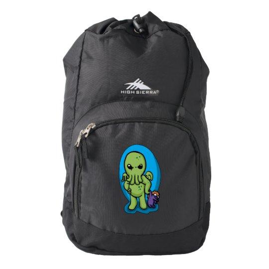 Baby cthulhu - cute cthulhu - cthulhu halloween backpack