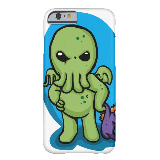 Baby cthulhu - cute cthulhu - cthulhu halloween barely there iPhone 6 case