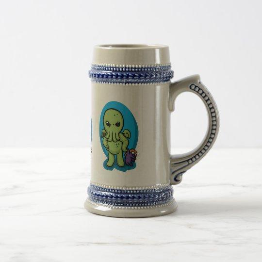 Baby cthulhu - cute cthulhu - cthulhu halloween beer stein