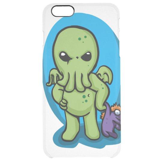 Baby cthulhu - cute cthulhu - cthulhu halloween clear iPhone 6 plus case