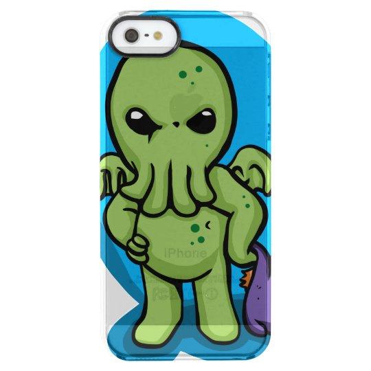 Baby cthulhu - cute cthulhu - cthulhu halloween clear iPhone SE/5/5s case