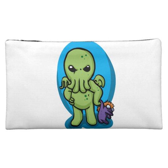 Baby cthulhu - cute cthulhu - cthulhu halloween cosmetic bag