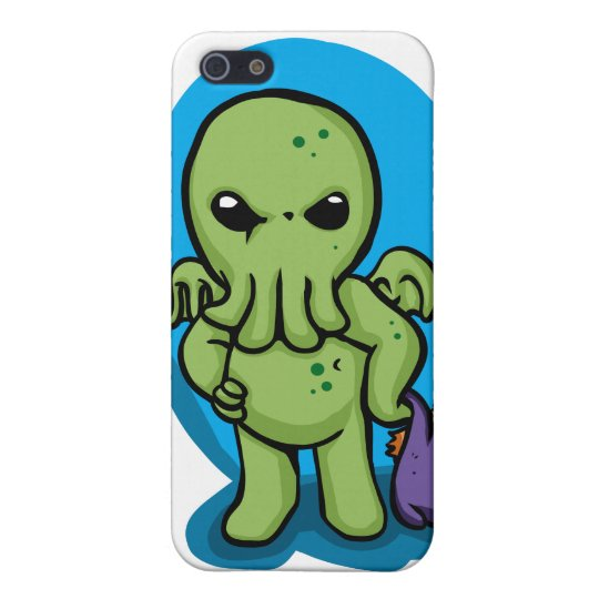 Baby cthulhu - cute cthulhu - cthulhu halloween cover for iPhone 5/5S