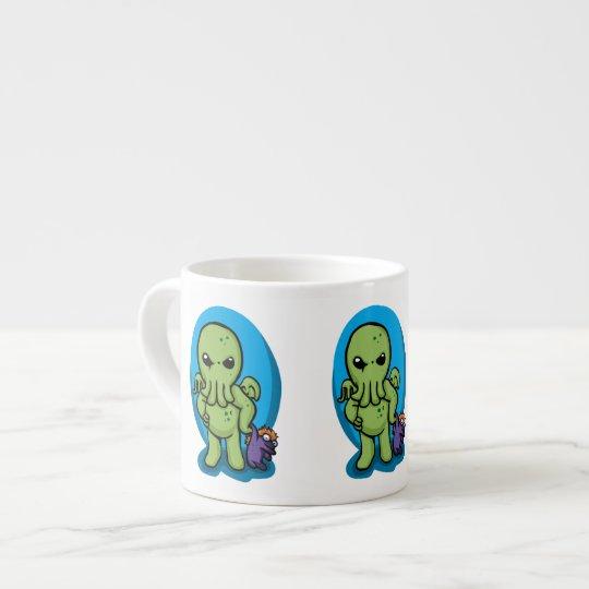 Baby cthulhu - cute cthulhu - cthulhu halloween espresso cup