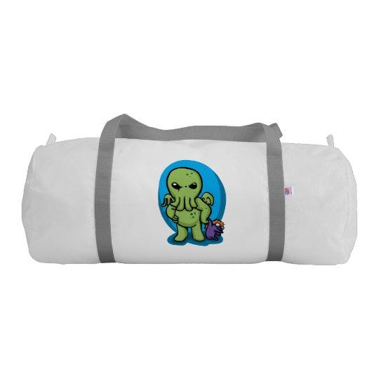 Baby cthulhu - cute cthulhu - cthulhu halloween gym bag