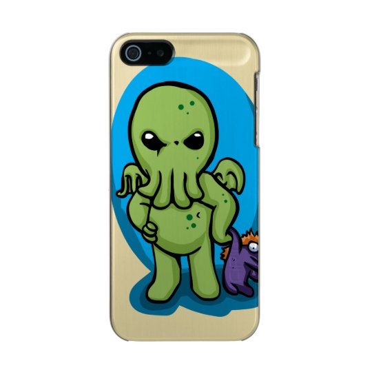 Baby cthulhu - cute cthulhu - cthulhu halloween incipio feather® shine iPhone 5 case