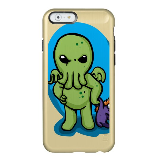 Baby cthulhu - cute cthulhu - cthulhu halloween incipio feather® shine iPhone 6 case