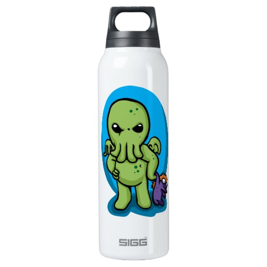 Baby cthulhu - cute cthulhu - cthulhu halloween insulated water bottle