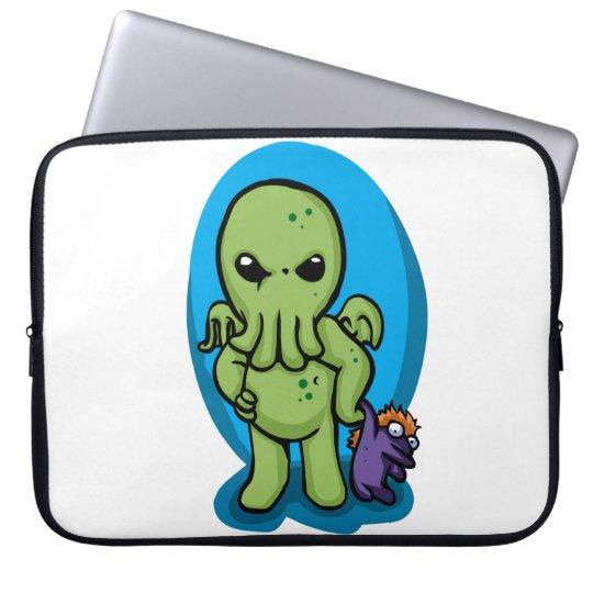 Baby cthulhu - cute cthulhu - cthulhu halloween laptop sleeve