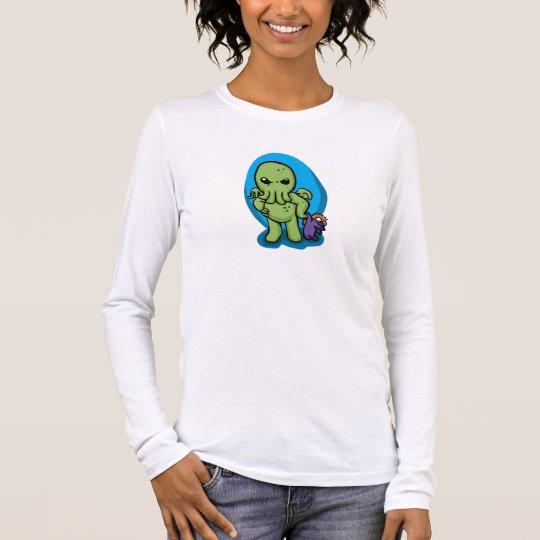 Baby cthulhu - cute cthulhu - cthulhu halloween long sleeve T-Shirt