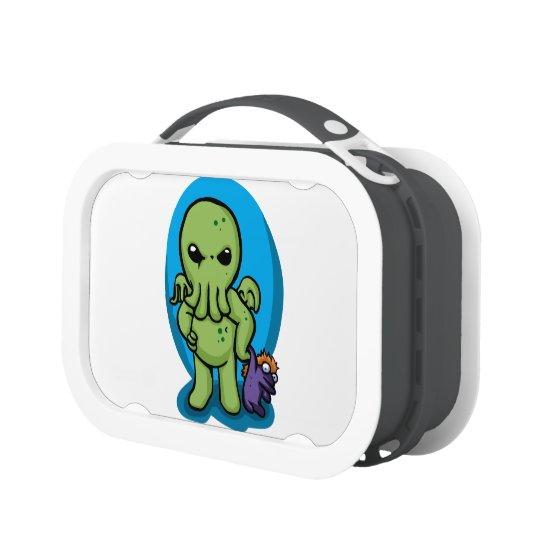 Baby cthulhu - cute cthulhu - cthulhu halloween lunch box