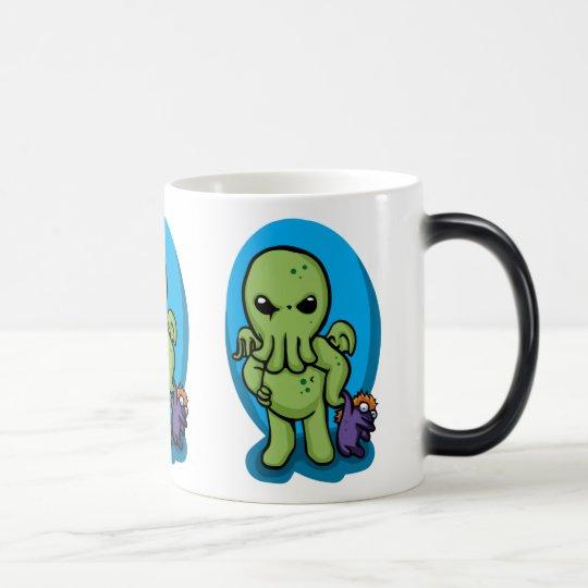 Baby cthulhu - cute cthulhu - cthulhu halloween magic mug