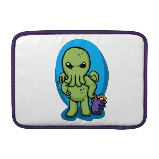 Baby cthulhu - cute cthulhu - cthulhu halloween sleeve for MacBook air