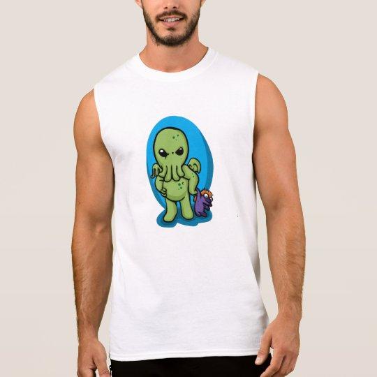 Baby cthulhu - cute cthulhu - cthulhu halloween sleeveless shirt