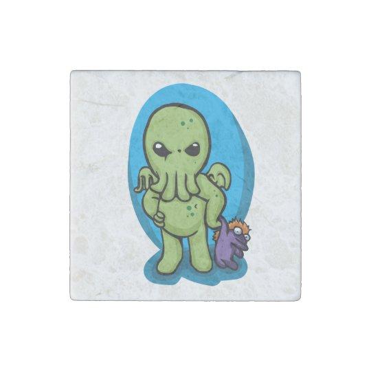 Baby cthulhu - cute cthulhu - cthulhu halloween stone magnet